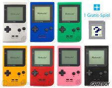 GameBoy pocket Konsole (Farbe nach Wahl) + GRATIS Nintendo GB Spiel TOP!