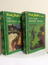 SECRET SEVEN SERIES Set Of 4 Books by Enid Blyton H/C