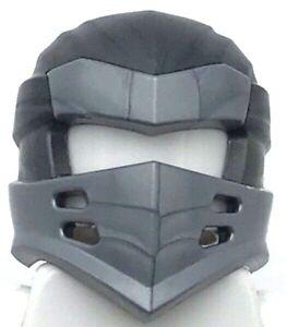 Lego New Pearl Dark Gray Minifigure Headgear Ninjago Wrap Type 7 4 Slits Ninja