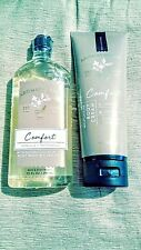Bath & Body Works Aromatherapy Comfort~Vanilla and Patchouli~Wash & Lotion combo