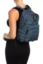 Marc Jacobs Quilted Nylon Backpack Blue Multi Floral M0013960 New With Tag