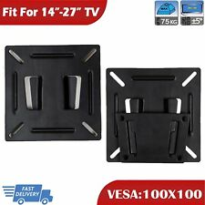 Plasma Slim Lcd Led tv bracket wall mount For 17 19 20 21 23 24 26 inch VESA 100