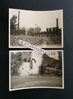 1945 WWII Military PHOTOS of Destruction in Erlangen, Germany Taken By U.S. WAAC