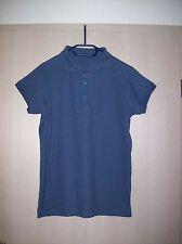 "Damen-Kurzarm-Polo-Shirt  ""No-Name"", Gr. 44 / L, dunkelblau-marine"