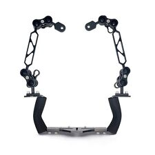 150mm 6inch Arm Bracket System Dual Handle Fr Waterproof Underwater Diving Case