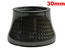 "OMNI Racer WORLDS LIGHTEST Integrated Headset Conical Carbon Spacer 1-1/8"" 30mm"