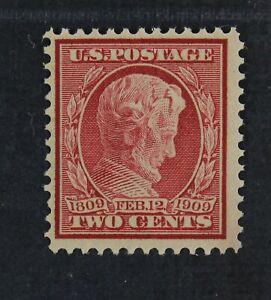 CKStamps: US Stamps Collection Scott#369 2c Lincoln Bluish Mint NH OG