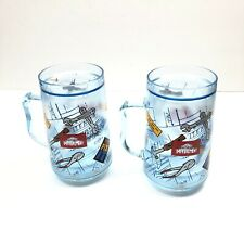 Home Improvement Show Mugs Plastice Wide Mouth Tools Graphic Print Novelty Cups