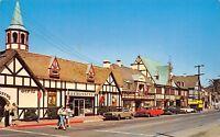 Solvang CA~Main Street~Copenhagen Drive Shops~Rasmussens~1960s Cars~Ford Mustang