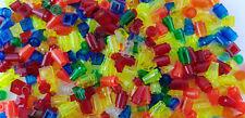 Lego® 200 Transparente Steine 1x1 Glassteine durchsichtig Sammlung bunt gemischt