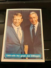Mickey Mantle with Joe DiMaggio - 1966 The Mickey Mantle Story - MINT