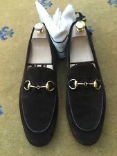 Gucci Mens Shoes Brown Suede Horsebit Loafers UK 7 US 8 EU 41 Brixton