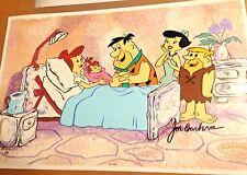 Rare Hanna Barbera Flintstones Signed Cel The Blessed Event Number1 Artist Proof