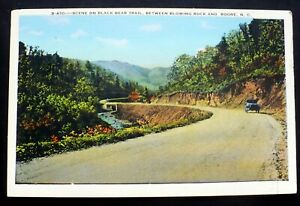 1915-20s Model A Car, Black Bear Trail, Between Blowing Rock and Boone, N C