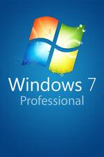 Windows 7 Professional 32/64 Bit Aktivierungsschlüssel Download Deutsch Englisch