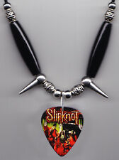 Slipknot Band Photo Guitar Pick Necklace #6