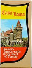 1960's early 70's Casa Loma Toronto Ontario Canada vintage brochure castle b