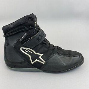 Alpinestars Waterproof Motorcycle Bike Sports Boots Black Size EU43 US10 UK9
