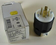 Leviton 2411 Locking Plug 20A