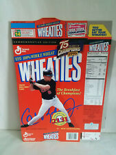 Wheaties Cal Ripken Jr Unused Factory Cereal Box Flat / 2131 Consecutive Games
