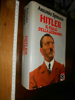 LIBRO:HITLER IL FIGLIO DELLA GERMANIA - ANTONIO SPINOSA - MONDADORI 1991