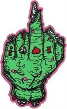 """Jeral Tidwell Zombie Finger 2.5x4"""" Embroidered Patch Protective Packaging NEW"""