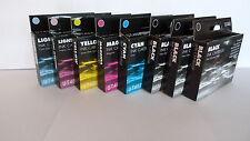 8 EPSON R320 RX500 RX600 COMPATIBLE INK CARTRIDGES