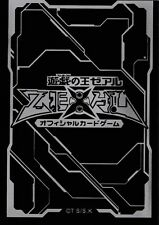 (100) YU-GI-OH Card Deck Protectors New ZEXAL Card Sleeves Black