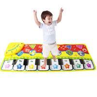 Musical Music Kid Piano Play Baby Mat Animal Educational Soft Kick Toy