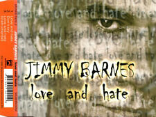 "JIMMY BARNES ""LoveAndHate"" 1999 3Track CD  ""Don'tCry,LoveAndHate(Instrumental)"""