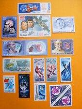 LOT 5208 TIMBRES STAMP AERONAUTIQUE ESPACE RUSSIE ANNEE 1965-89