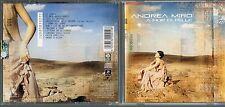 ANDREA MIRO CD  A FIOR DI PELLE  Enrico Ruggeri 2007 fuori catalogo NERI MARCORE