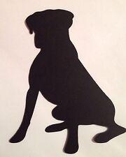 Dog Silhouette Cricut Die Cut Embellishment Made With Card Stock Handmade