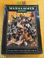 WARHAMMER 40,000 CORE RULEBOOK GAMES WORKSHOP 40K RULE BOOK SCARCE 1998 EDITION