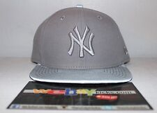 New Era New York Yankees 3M Brim Lid Cool Grey Gray Snapback Cap Hat Brand New