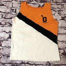 Vintage 90s Oregon State Track & Field singlet jersey nylon tank top Ncaa Large