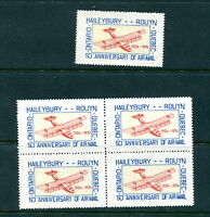 MNH Canada Semi Official Airmail Single and Block of 4 (Lot #RN168)