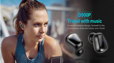 NEW SYLLABLE D900P TWS BT HEADSET WIRELESS STEREO EARBUDS GOLD PLATED CHARGING