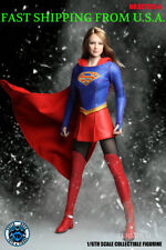 1/6 SUPERGIRL Head Sculpt Clothing Set A For PHICEN Suntan Female Figure ❶USA❶