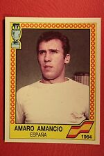 Panini EURO 88 N. 8 ESPANA AMANCIO WITH BLACK BACK VERY GOOD MINT CONDITION!!