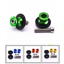 For KAWASAKI ER6N Z250 NINJA 250/300 10mm Swingarm Spools Stand Screws Slider