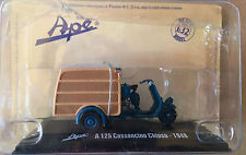 """DIE CAST  """" A 125 CALESSINO CHIUSO - 1948 """" APE COLLECTION SCALA 1/32"""