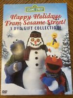 Sesame Street Happy Holidays From Sesame Street Gift Collection DVD