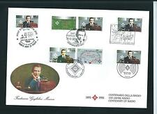 IRELAND -  1995  Marconi  Radio FDC First Day Cover  - Joint Omnibus Issue