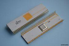 Rare Vintage Gold Ceramic KM1801VM3 - USSR Soviet Clone of ~DEC PDP-11 CPU