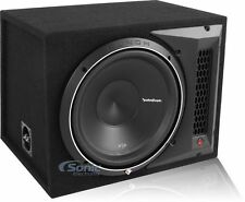 """Rockford Fosgate Punch P2 P2-1X12 800W 12"""" Loaded Ported Subwoofer 1-Ohm Box"""