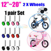 Universal Kids Bicycle Bike Stabilisers Child  Bike SUB Training Wheels 12- 20""