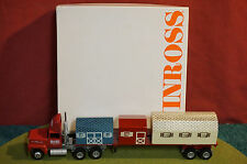 Winross Diecast Metal 1/64 truck The Barn Yard Flatbed with LOad 1991