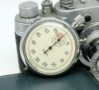 AGAT Vintage Soviet stop watch stopwatch Chronometer 16 jewels USSR Rare Edition