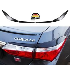 Rear Eyelids eyebrows for Toyota Corolla 2012-2016 Tail Lights Cover eyelash